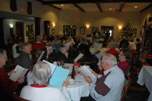 Jubilees luncheon of the Lutheran Church of Our Saviour